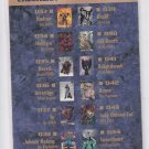 Checklist Insert Trading Card Single 1993 Collector Uinverse #CL2 *ED