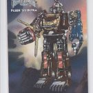 Ninja Megazord Limited Edition Trading Card 1995 Fleer Ultra Power Rangers 7 *ED