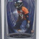 Bradley Roby RC Trading Card Single 2014 Bowman Chrome 112 Broncos