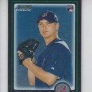 Josh Tomlin RC Trading Card Single 2010 Bowman Chrome Draft #BDP76 Indians
