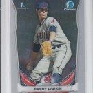 Grant Hockin 1st Prospect Trading Card 2014 Bowman Chrome Draft CDP58 Indians