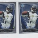 Dion Bailey RC Trading Card Lot of (2) 2014 Bowman Chrome #136 Seahawks