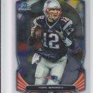 Tom Brady Football Trading Card 2014 Bowman Chrome #28 Patriots