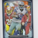 Terrance Williams Black Refractors Parallel 2014 Bowman Chrome #86 Cowboys /299
