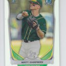 Matt Chapman Refractors SP 2014 Bowman Chrome Draft CDP21 Athletics