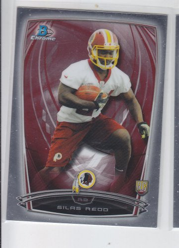 Silas Redo RC Trading Card Single 2014 Bowman Chrome 144 Redskins