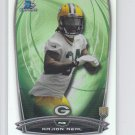 Rajion Neal RC Refractors Football Trading Card 2014 Bowman Chrome #183 Packers