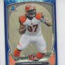 Geno Atkins Bubble Refractors 2014 Bowman Chrome #11 Bengals 05/99