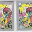 Starfire Trading Card Lot of (2) 1991 Impel DC Comics #125 *ED