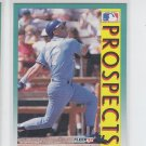 Sean Berry RC Baseball Trading Card 1992 Fleer #680 Royals