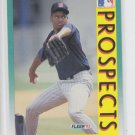 Willie Banks Baseball Trading Card 1992 Fleer #657 Twins