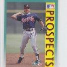Vinny Castilla RC Baseball Trading Card 1992 Fleer #666 Braves
