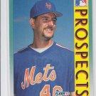 Terry Bross Baseball Trading Card 1992 Fleer #653 Mets