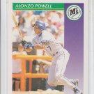 Alonzo Powell Baseball Trading Card 1992 Score #413 Mariners