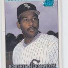 Roberto Hernandez Rated Rookie Baseball Trading Card 1992 Donruss #19 White Sox