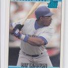 Pat Lennon Rated Rookie Baseball Trading Card 1992 Donruss #17 Mariners