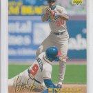 Jose Offerman Baseball Trading Card 1993 Upper Deck #464 Dodgers