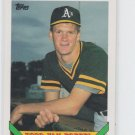 Todd Van Poppel Baseball Trading Card 1992 Topps #673  Athletics
