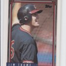 Jim Thome RC Baseball Trading Card Single 1992 Topps #768 Indians