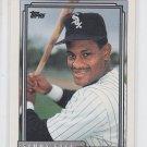 Sammy Sosa Baseball Trading Card Single 1992 Topps #94 White Sox