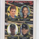 Matt Mieske Tracy Sanders Midre Cummings Ryan Freeburg 1993 Topps #616 RC
