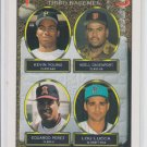 Kevin Young Adell Davenport Eduardo Perez Lou Lucca 1993 Topps RC #494 QTY