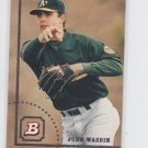 John Wasdin RC Baseball Trading Card Single 1994 Bowman #660 Athletics