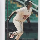 Torii Hunter RC Baseball Trading Card Single 1994 Bowman #104 Twins