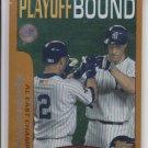 Derek Jeter & Paul O'Neill AL East Champs 2001 Topps #351 Yankees