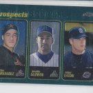 Carlos Hernandez Geraldo Guzman Adam Eaton Prospects 2001 Topps Chrome #300