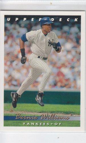 Gerald Williams Baseball Trading Card Single 1992 Upper Deck #360 Yankees