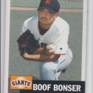 Boof Bonser Baseball Trading Card Single 2002 Topps Heritage #101 Giants