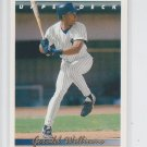 Bernie Williams Baseball Trading Card Single 1992 Upper Deck #332 Yankees