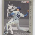 Kevin Appier Baseball Trading Card Single 1994 Fleer League Leaders #6 Royals