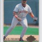 Cecil Fielder Baseball Trading Card Single 1994 Fleer Ultra #52 Tigers