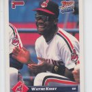 Wayne Kirby Rated Rookie Trading Card 1993 Donruss #380 Indians