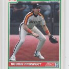 Mike Simms RC Baseball Trading Card 1991 Score #766 Astros