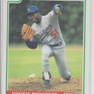 Terry Wells RC Baseball Trading Card 1991 Score #359 Dodgers