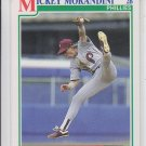 Mickey Morandini RC Baseball Trading Card 1991 Score #376 Phillies QTY