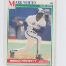 Mark Whiten RC Baseball Trading Card 1991 Score #358 Blue Jays