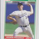 Mark Lee RC Baseball Trading Card 1991 Score #372 Brewers