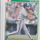 Luis Sojo RC Baseball Trading Card 1991 Score #342 Blue Jays