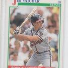 Jim Vacher RC Baseball Trading Card 1991 Score #341 Braves