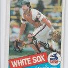 Carlton Fisk Trading Card Single 1985 Topps #270 White Sox