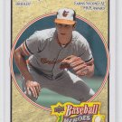 Cal Ripken Jr.  Baseball Trading Card Single 2008 Upper Deck Heroes #16 Orioles