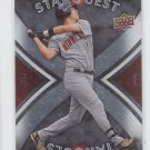 Joe Mauer Star Quest Insert 2008 Upper Deck Series 2 #SQ49 Twins