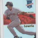Jed Lowrie Reflectives Trading Card Single 2008 Tristar Projections #56 Red Sox