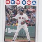 David Ortiz Trading Card Single 2008 Topps National Baseball Card Day #4 Red Sox