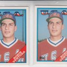 Robin Ventura Trading Card RC Lot of (2) 1988 Topps Traded #124T White Sox