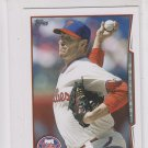 Roy Halladay Trading Card 2014 Topps Mini Exclusives #565 Phillies